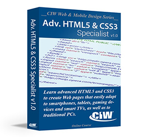 Advanced HTML5 and CSS3 Specialist: Instructor Guide